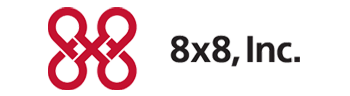 8x8 Hosted Voip Logo